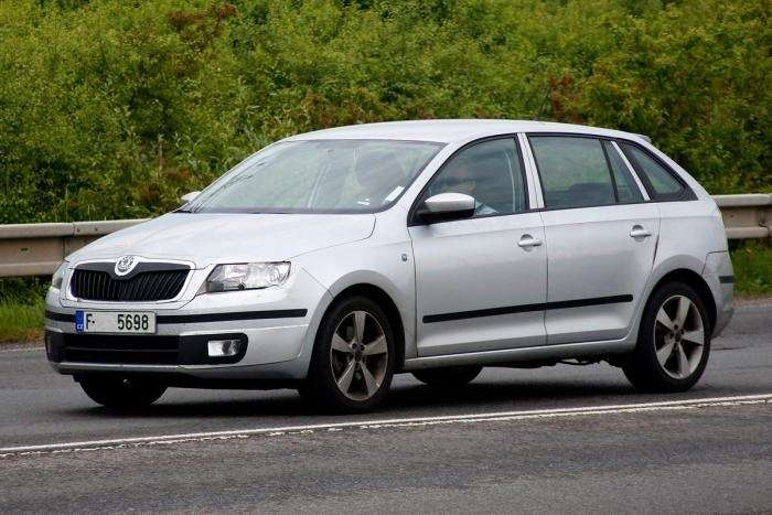 skoda rapid spaceback 2 no copyright