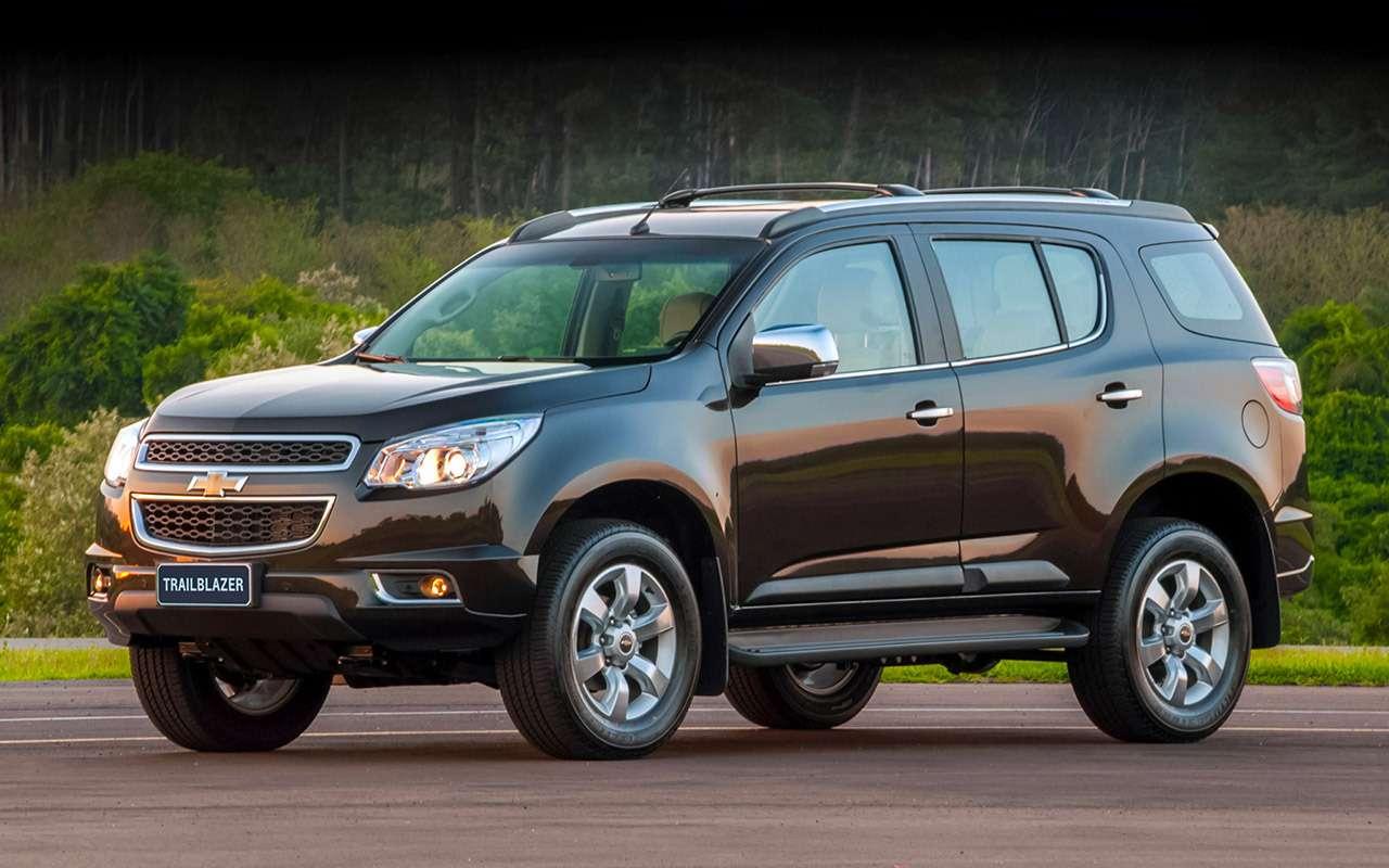 Новый Chevrolet Trailblazer: модный размер икрутой автомат— фото 1282554