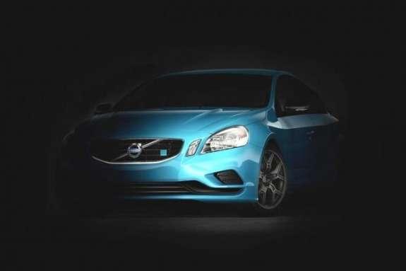 Volvo S60 Polestar Concept teaser image side-front view
