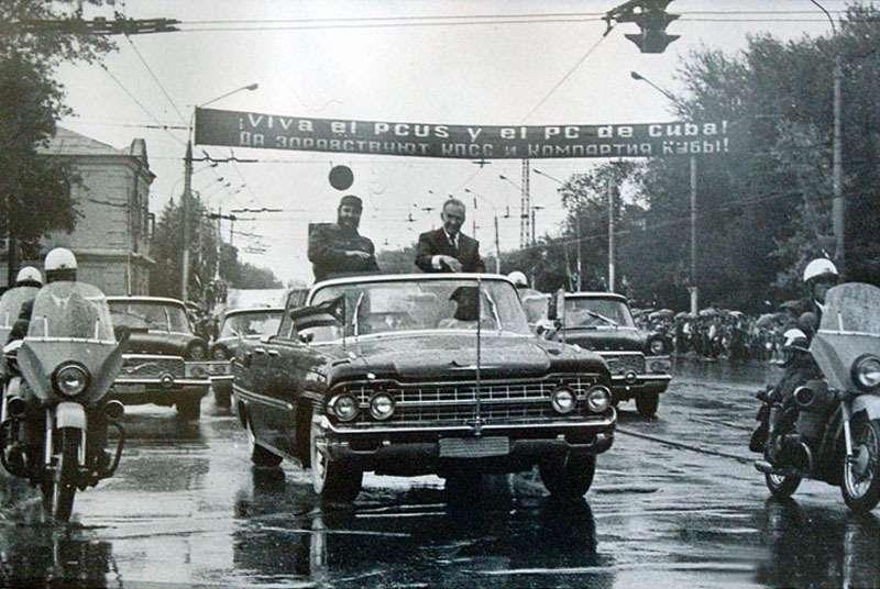 ВАЗ-2108и другие автомобили Фиделя Кастро— фото 670104