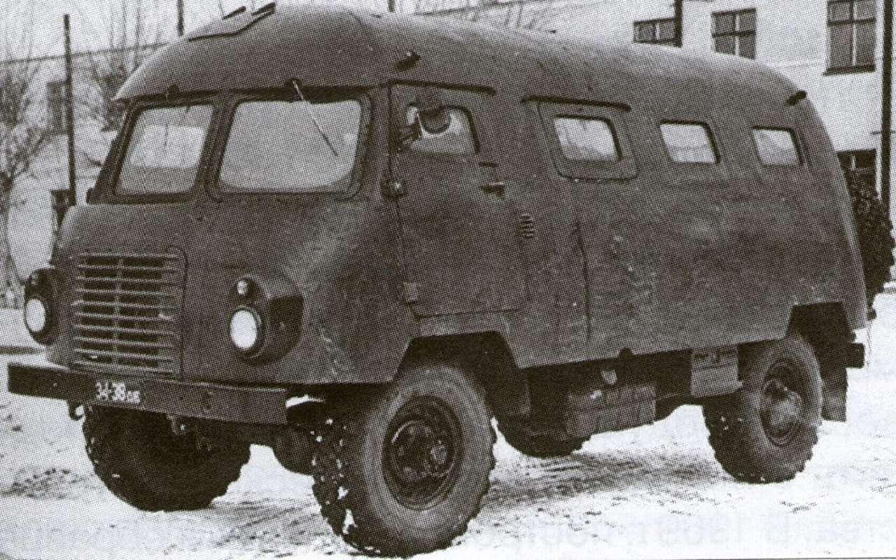 «Шишига» молодости нашей: история грузовика-миллионника ГАЗ-66 - фото 998469