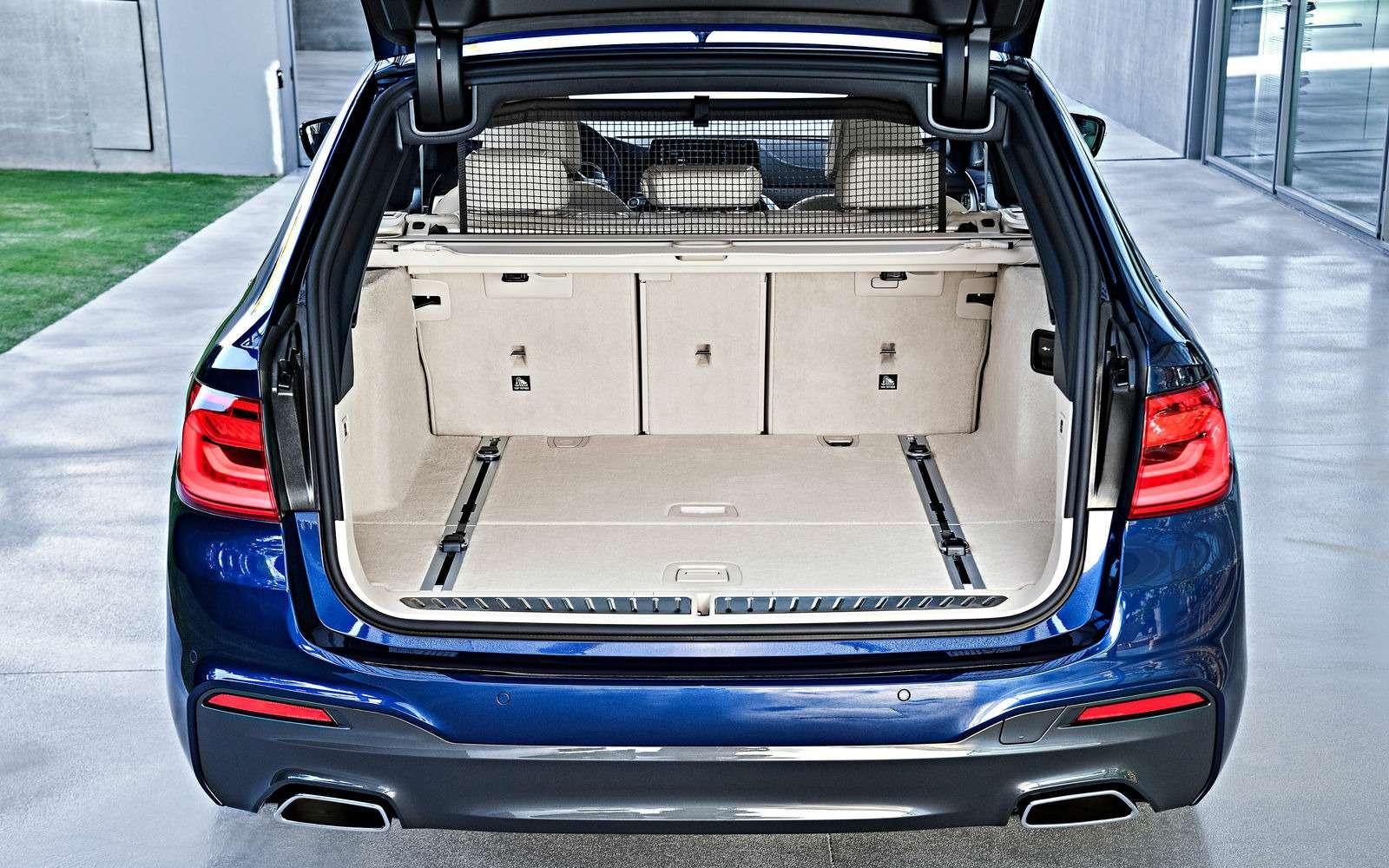 Новая «пятерка» BMW— теперь искузовом универсал— фото 701206