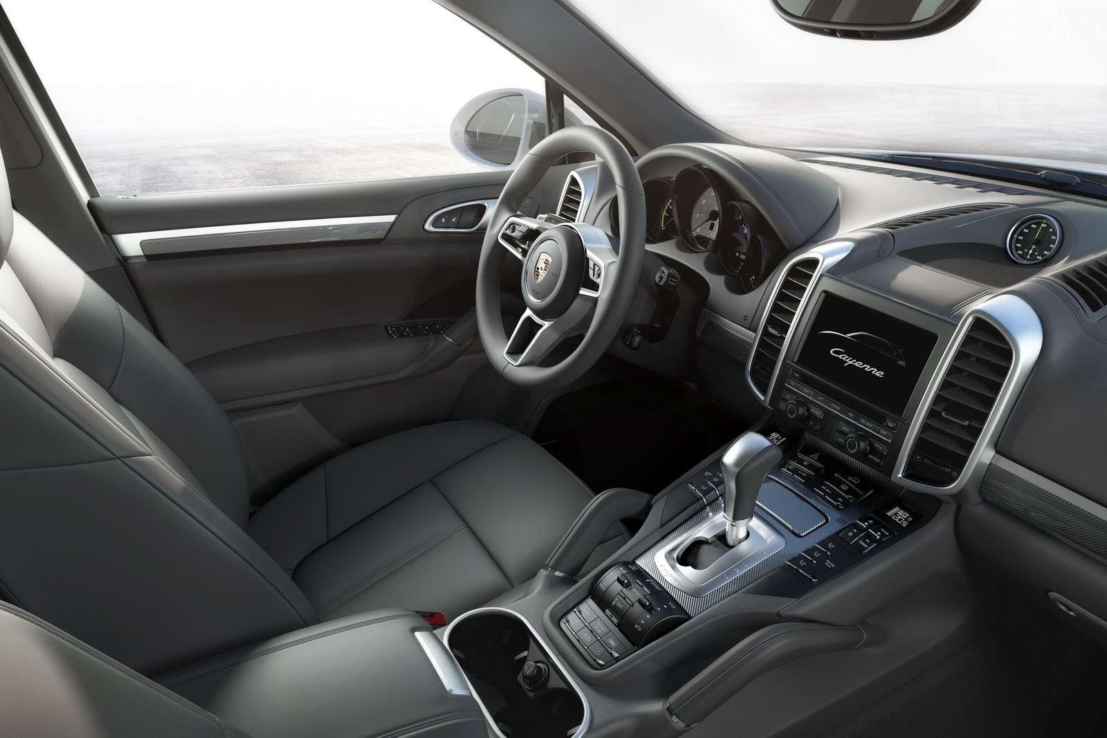 Cayenne SE-Hybrid Interieur