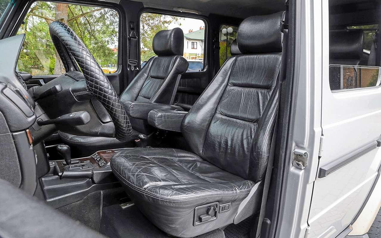 Чтовзять за1500000 руб.: новый Дастер против 22-летнего Mercedes G300— фото 1260690