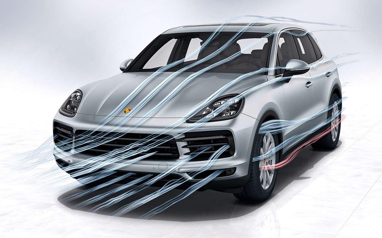 Новый Porsche Cayenne: все самое интересное— внутри— фото 826001