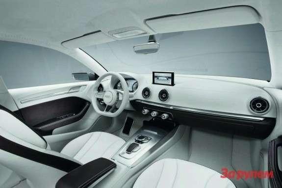 Audi A3e-tron Concept inside
