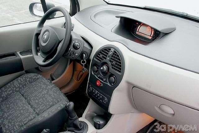 Тест Renault Modus, Peugeot 1007, Honda Jazz. Загадки малых форм— фото 61786
