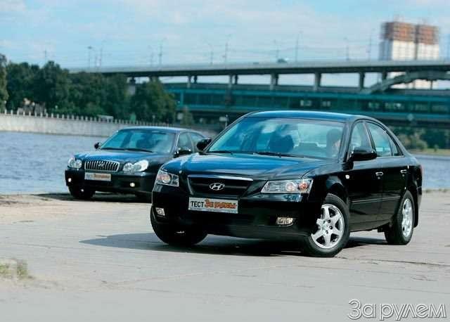 Hyundai NF, Hyundai Sonata. Налигу выше— фото 59038