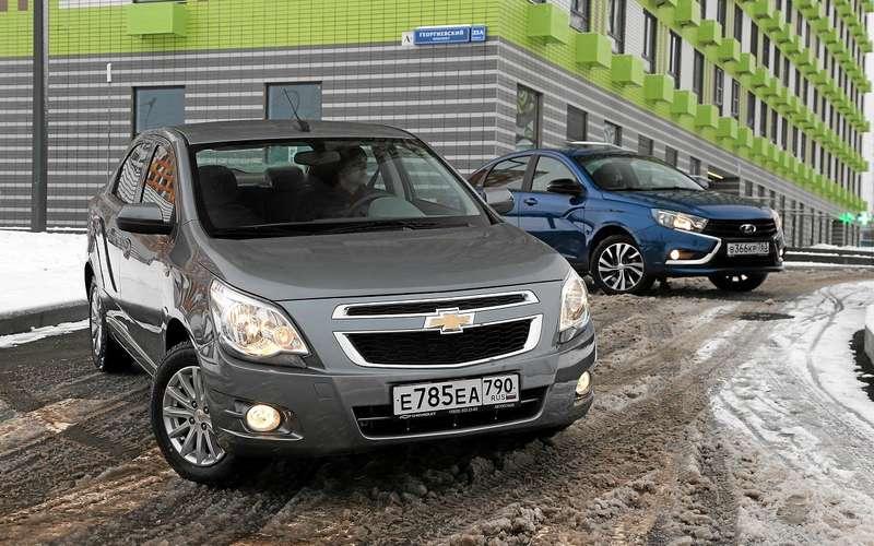 Chevrolet Cobalt вернулся! Ондешевле Весты