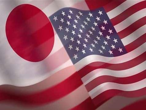no copyright japan us flags