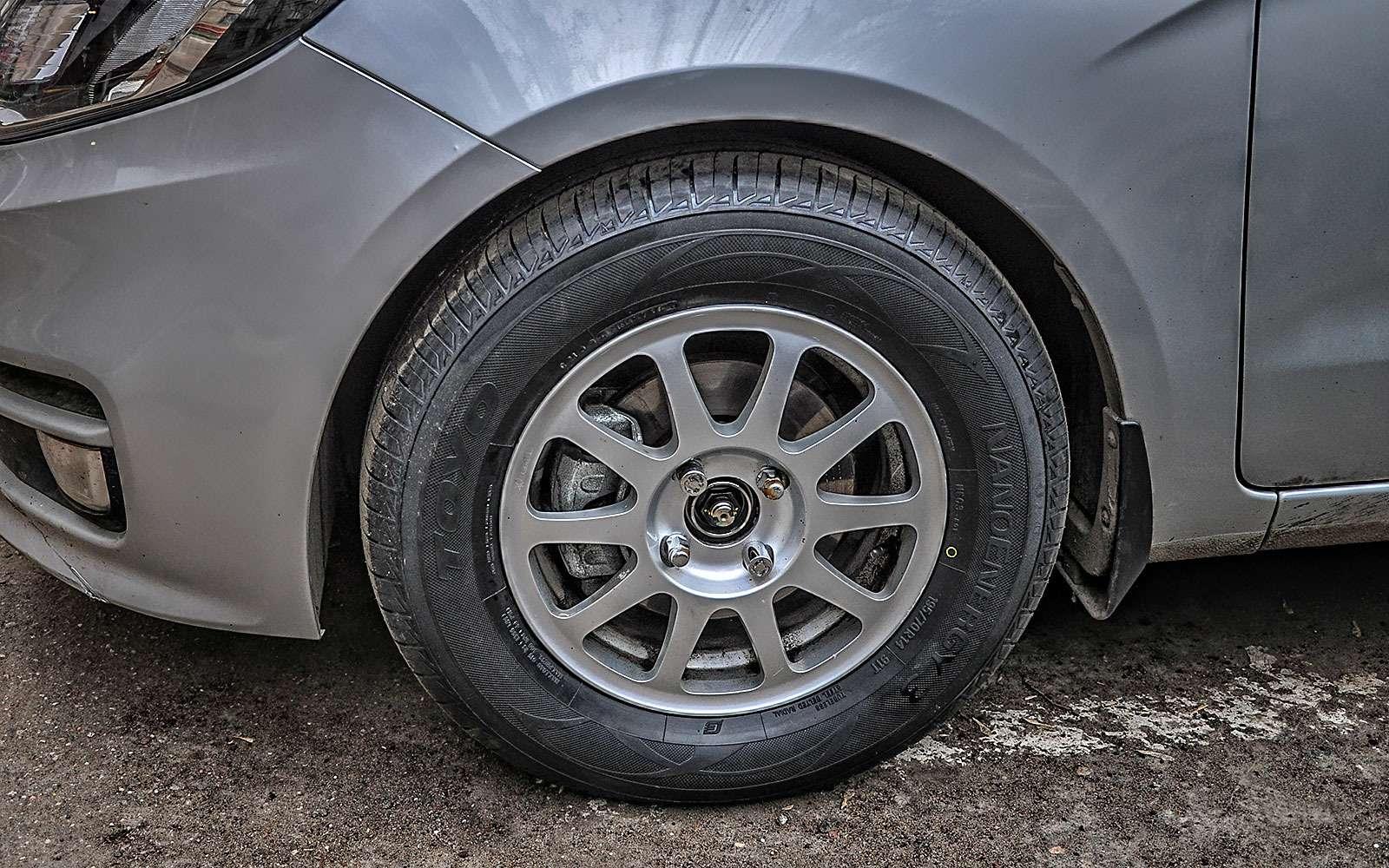А что, если поставить колеса побольше?— экспертиза ЗР— фото 792219