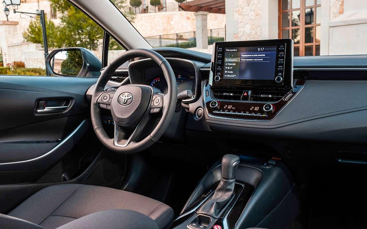 Новая Toyota Corolla: почти Camry (ипоцене тоже)— фото 963266