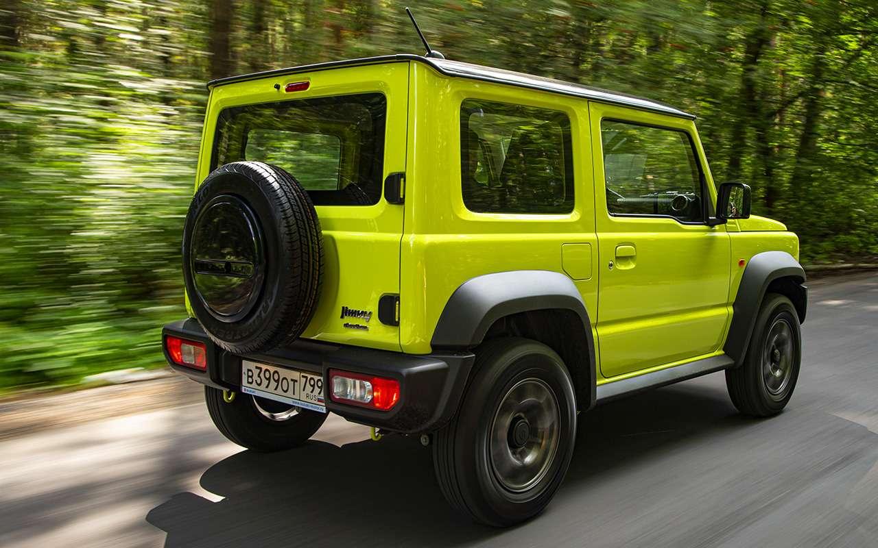 Новый Suzuki Jimny— тест вовсех подробностях— фото 993056