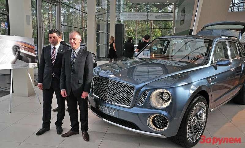 Marcus Abbott head ofmarketing & product SUV line Bentley