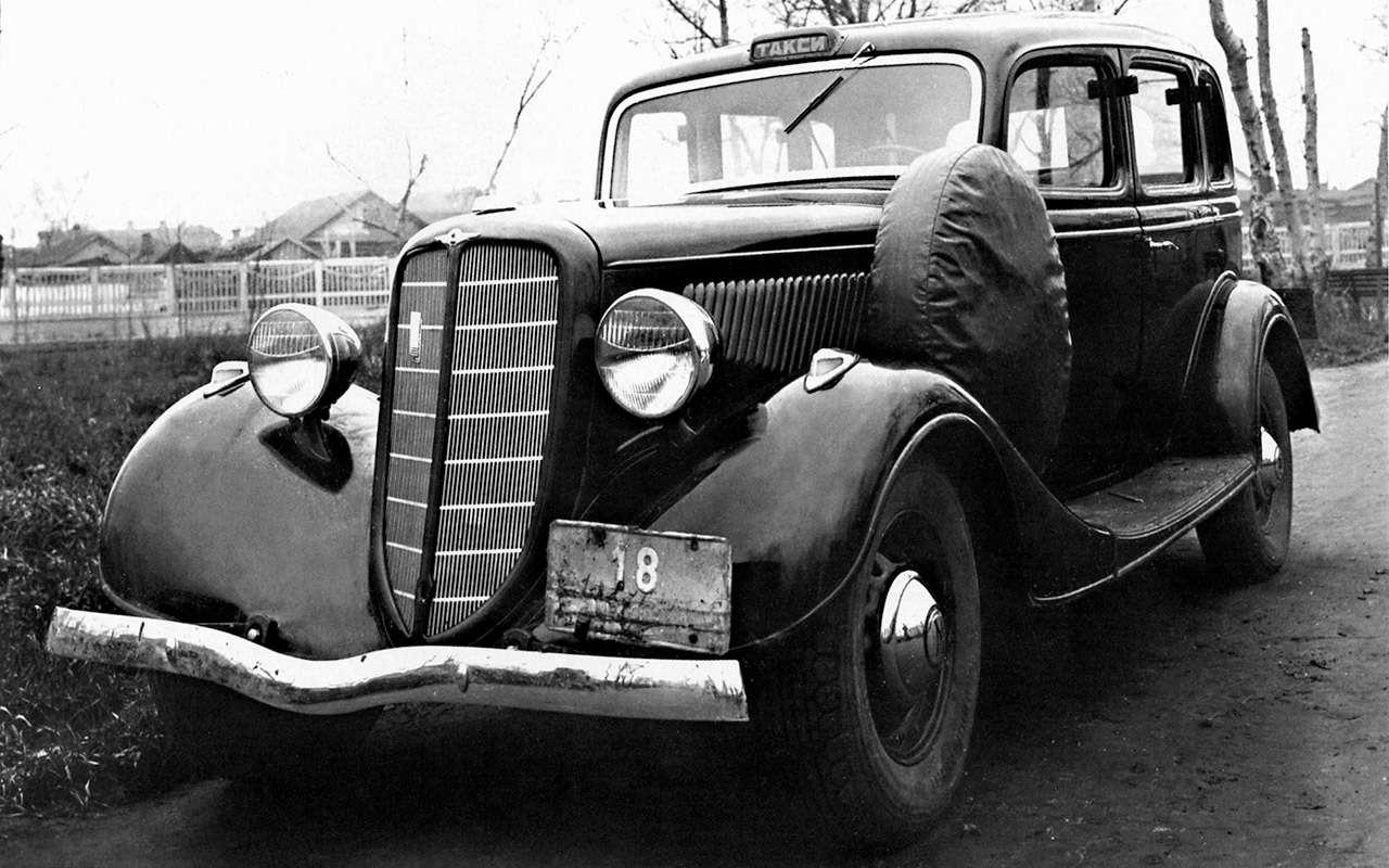Всетакси СССР: лимузины, кабриолеты, иномарки— фото 1140112