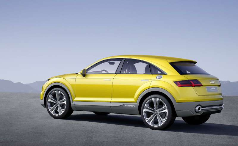 Audi показала концепт гибридного TT-кроссовера вПекине