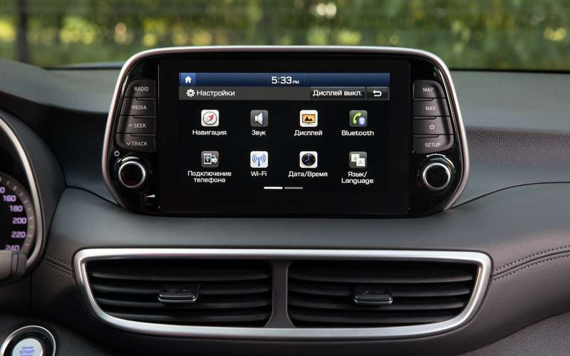 Hyundai Tucson с новым автоматом (восьмиступенчатым!)