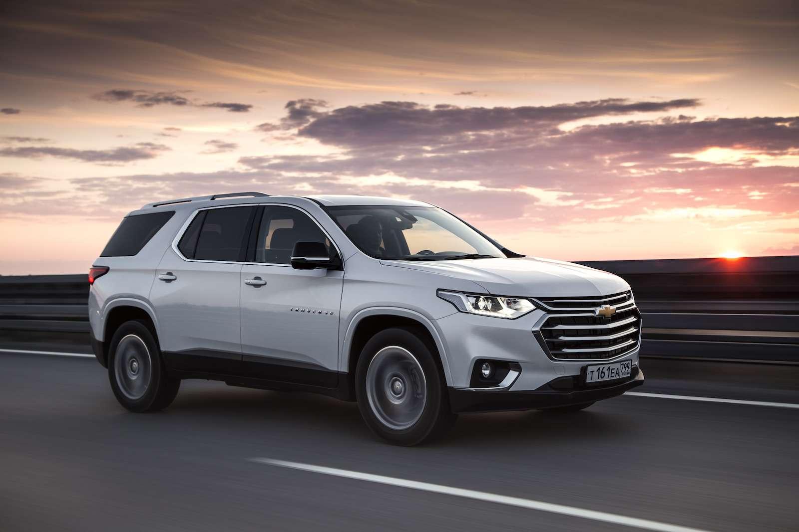 Тест-драйв Chevrolet Traverse: найти ребенка вбагажнике— фото 880428