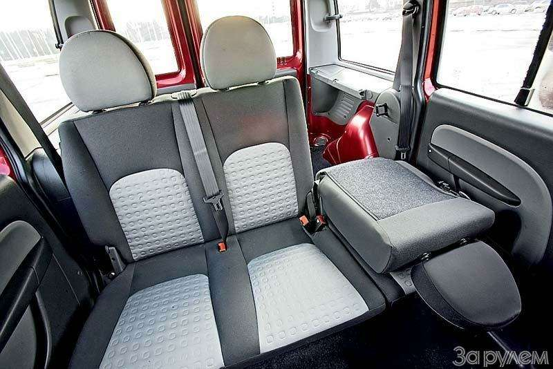 Тест Chevrolet Rezzo, Fiat Doblo, Skoda Roomster. Квадратные метры— фото 70465