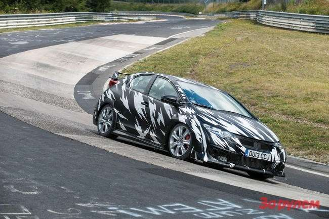 21151 Civic Type R testing