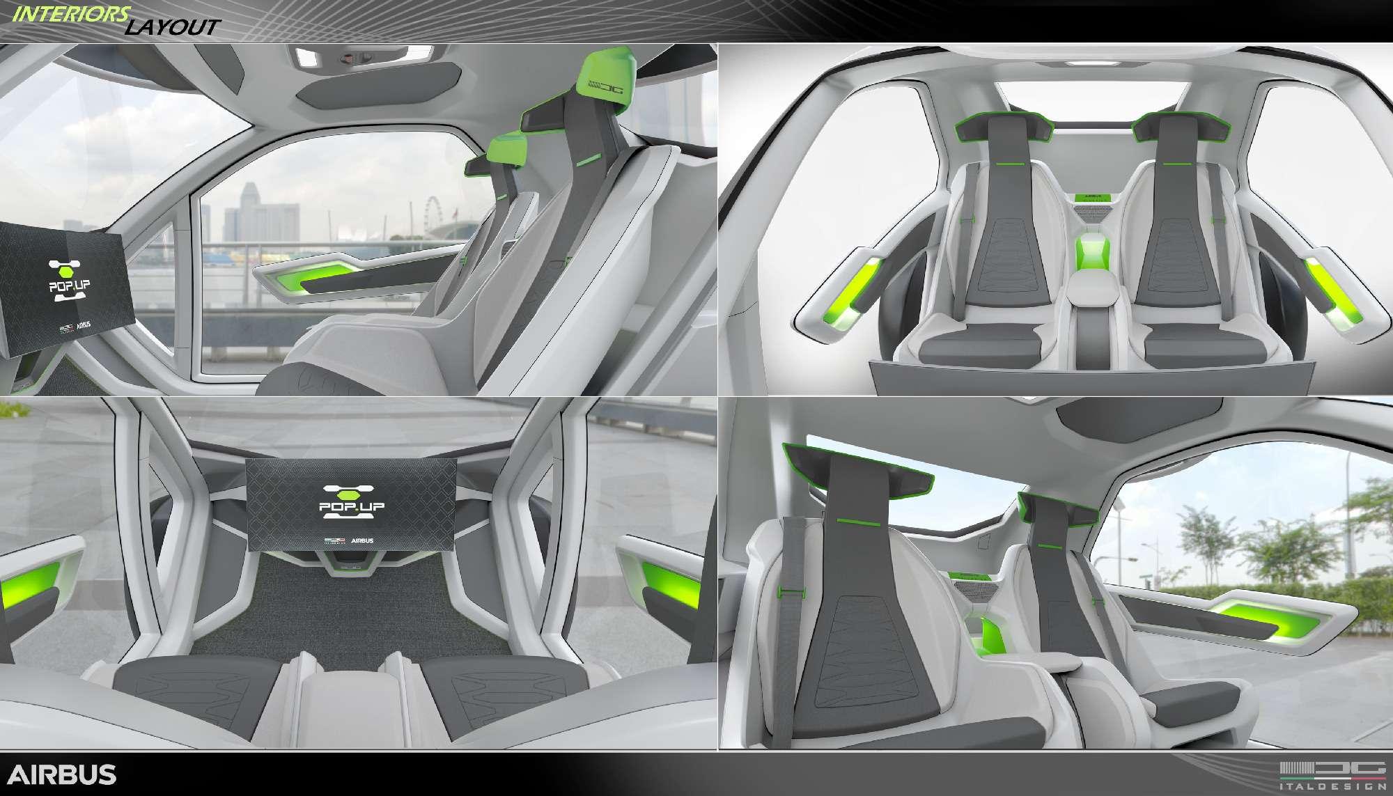 Разделяй илетай: Italdesign иAirbus создали модульный аэромобиль— фото 719938