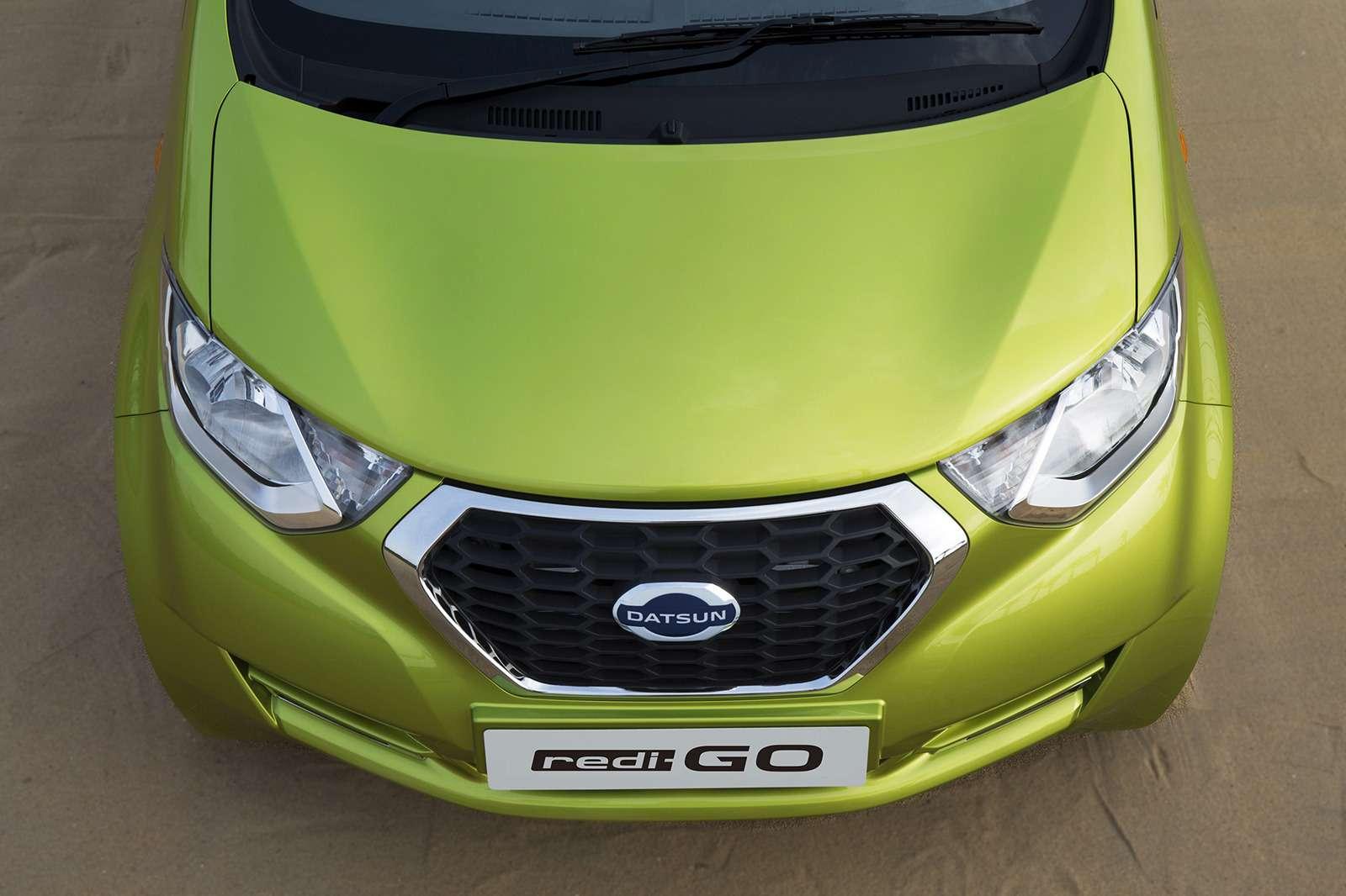 Datsun официально представил высокий хэтчбек redi-GO— фото 575650