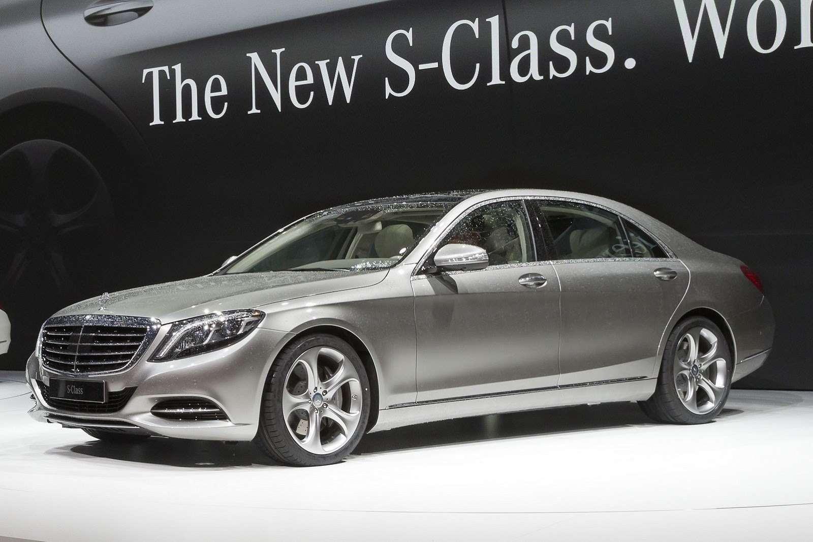 2014 Mercedes Benz SClass M2no copyright
