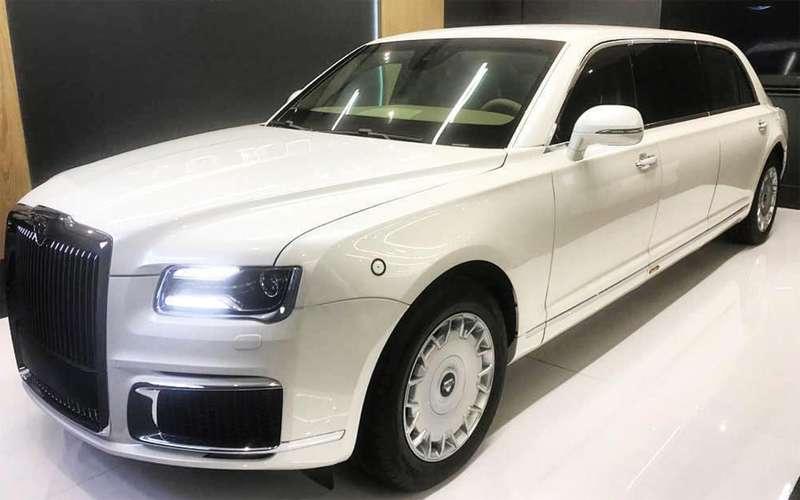Лимузин Aurus показали вАбу-Даби