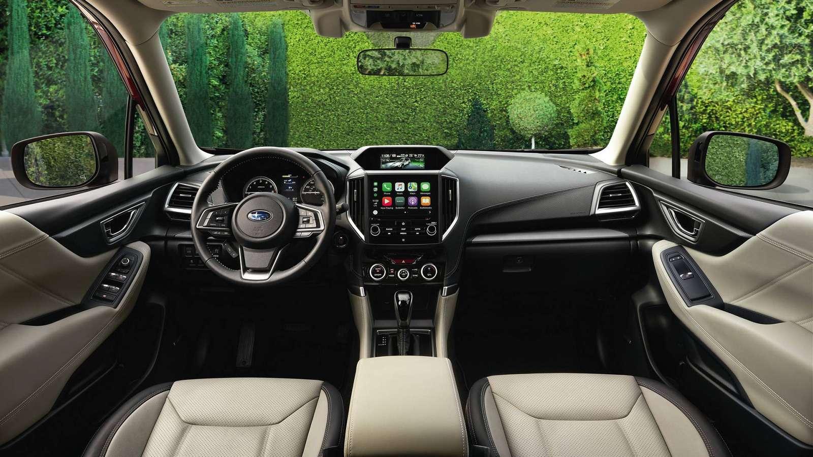 Subaru представила новый Forester. Нет, ондействительно новый!— фото 858006
