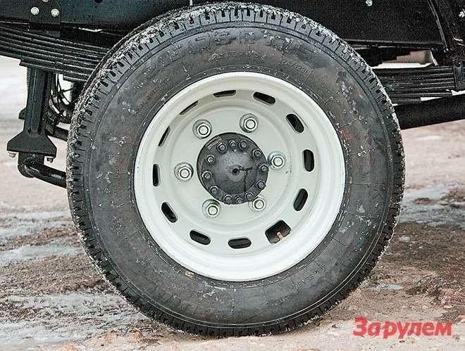 Крепление задних колес постандарту  ISO, без давно надоевших футорок
