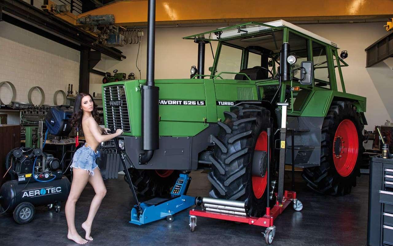 Новый календарь длялюбителей тракторов (инетолько)— фото 945280