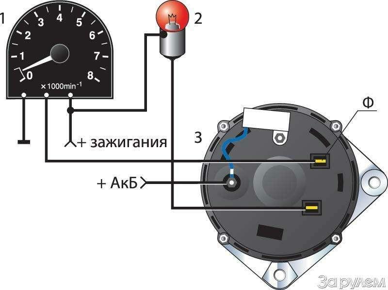 Схема подключения генератора газель 406 фото 182