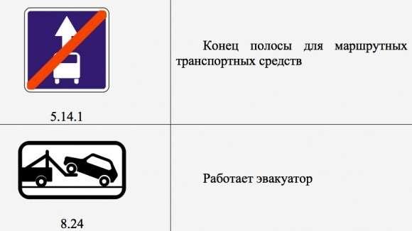 Надорогах Москвы появятся новые знаки