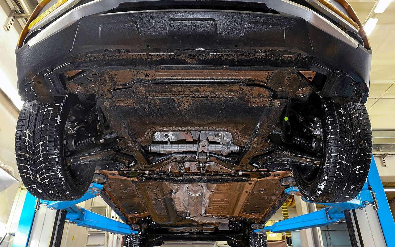 Лада XRAY Cross, Ford Ecosport иCreta: тест кроссоверов— фото 944635