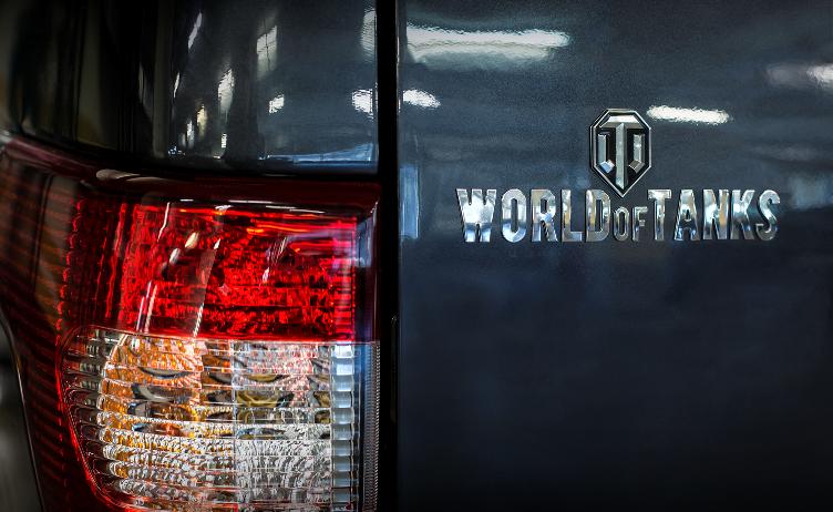 УАЗ представил «Патриот» встиле игры World ofTanks