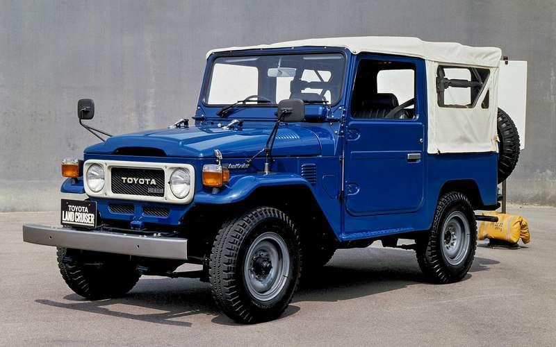 Toyota Land Cruiser 40, 1960-2001