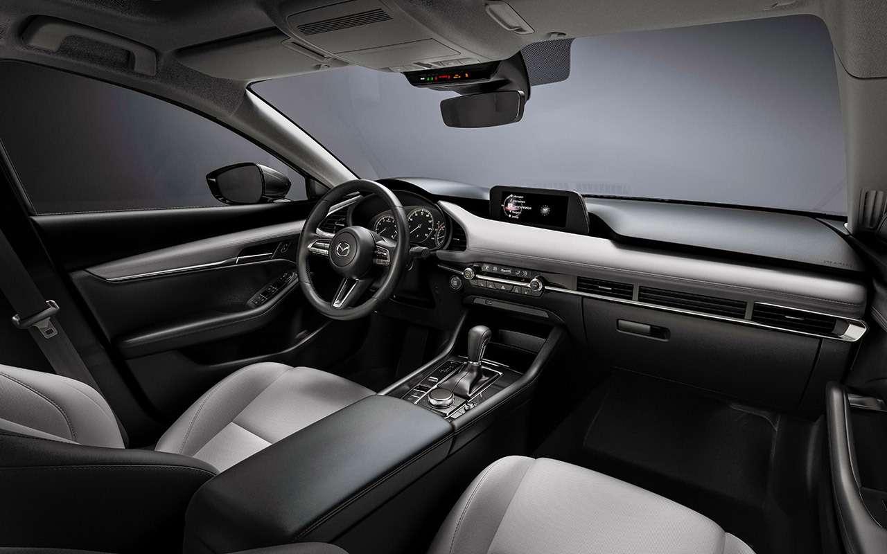 Новая Mazda 3: как японцы скрестили бензиновый мотор сдизельным— фото 934469