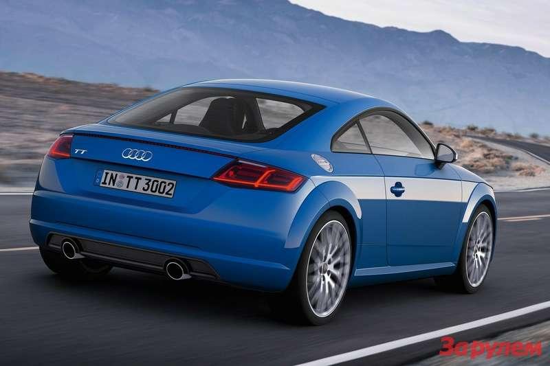 Audi TTнового поколения