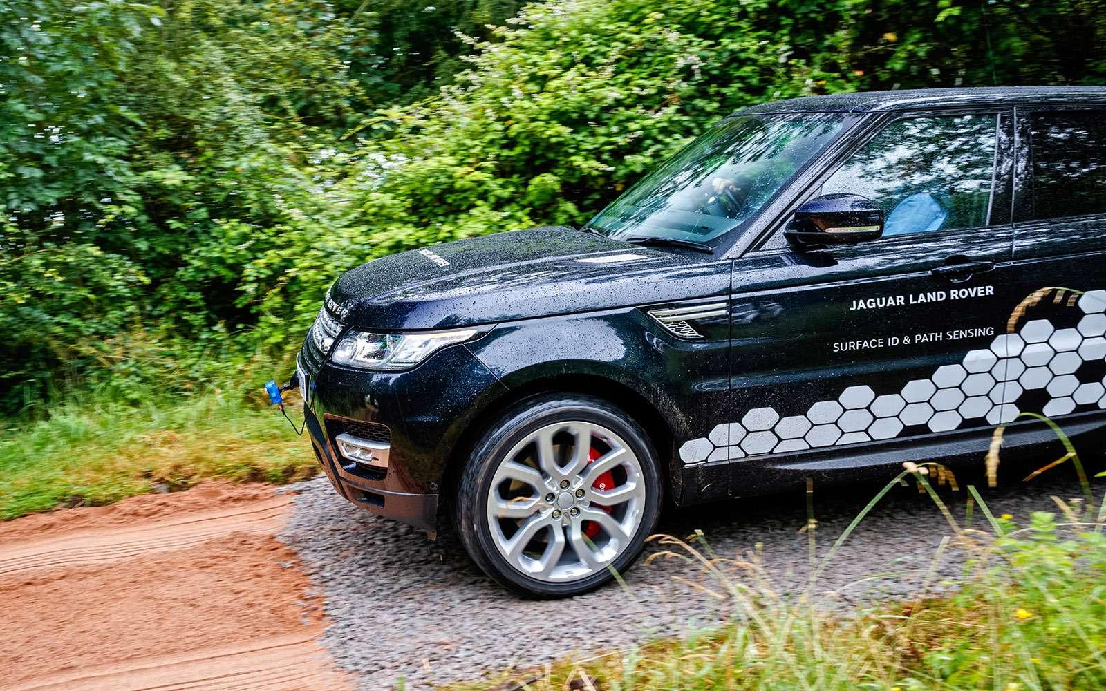 Перспективные технологии Jaguar Land Rover: длядорог инаправлений— фото 634877