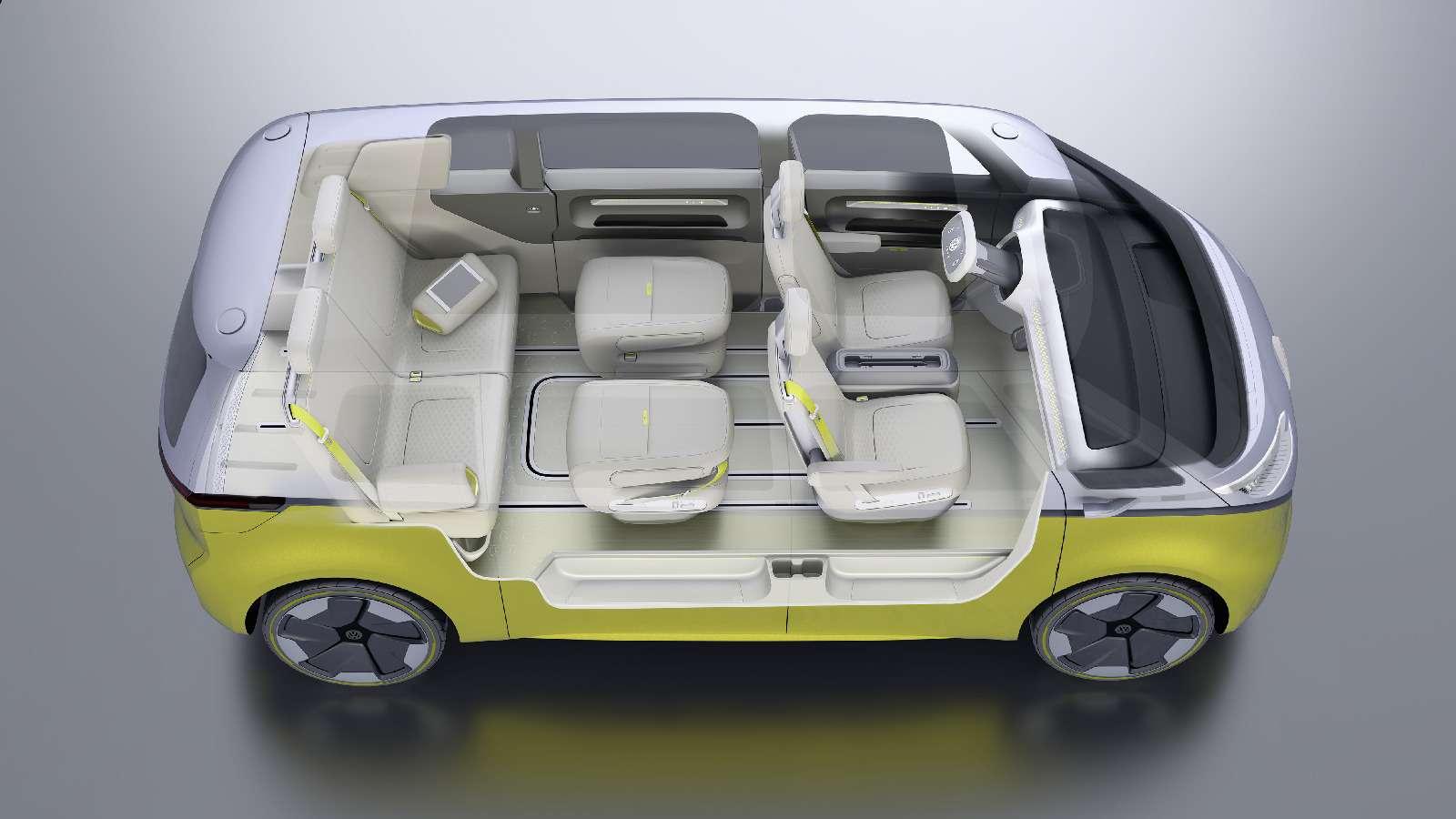 Volkswagen I.D.Buzz: между хиппи ихипстерами— фото 690418