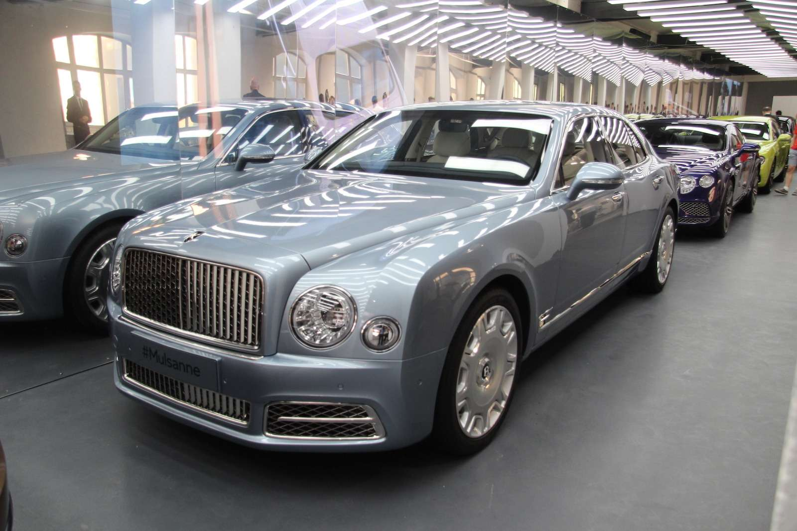 Bentley привезла вМоскву «экстраординарную» выставку— фото 593983