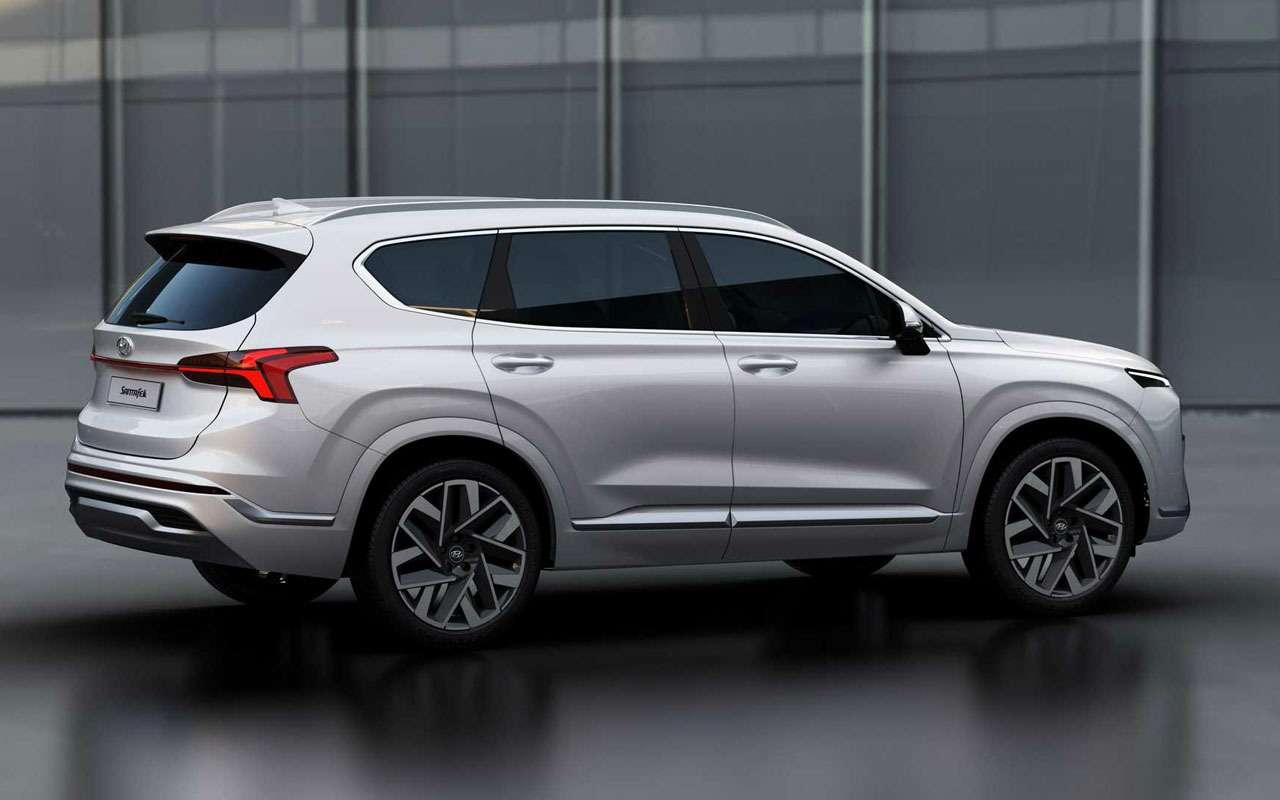 Hyundai Santa Feполучил новые моторы икоробки— фото 1190948