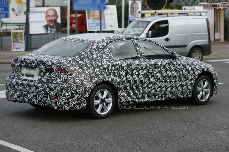 New Lexus IS test prototype side-rear view 2_no_copyright