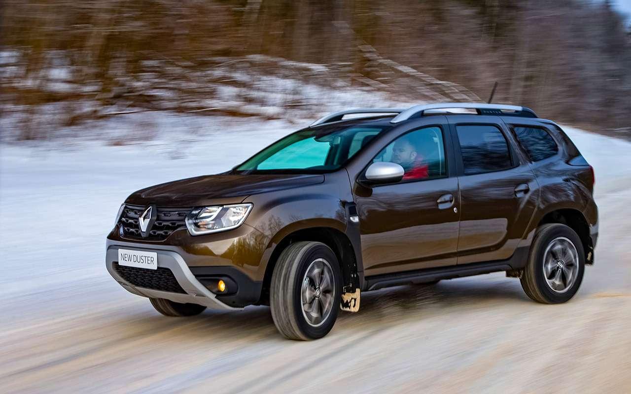 Новый Renault Duster стурбо имеханикой— первый тест— фото 1227555