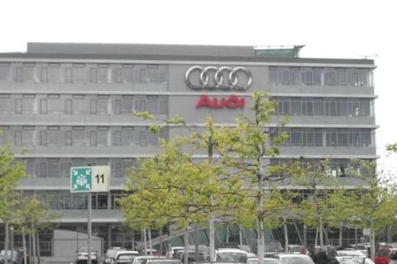 Audi headquarters inIngolstadt