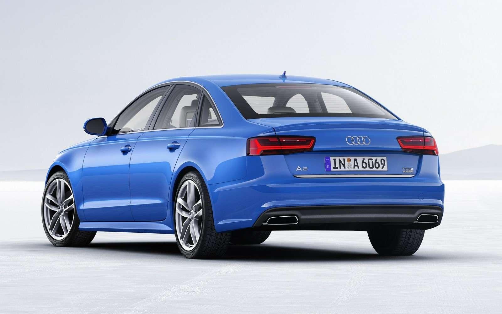Обновленное семейство Audi A6/A7 хочет понравиться гаджетоманам— фото 579079