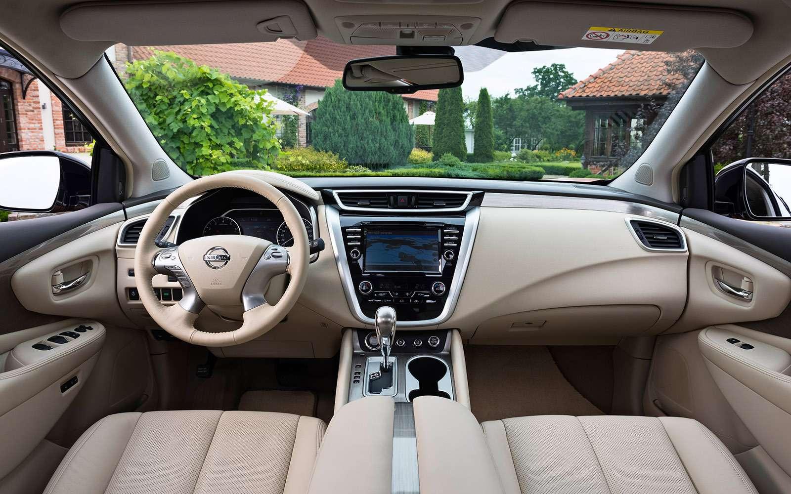 Новый Nissan Murano: экстраверт— фото 627224