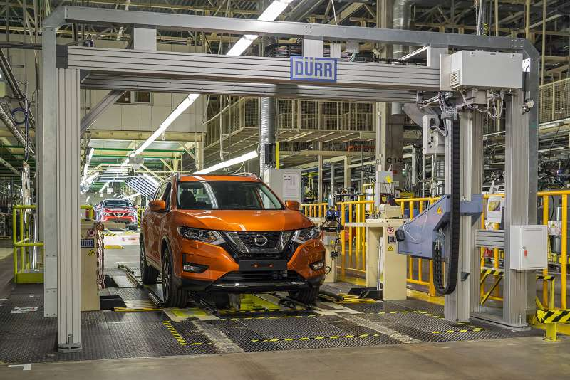 Обновленный Nissan X-Trail дляРоссии: первые подробности