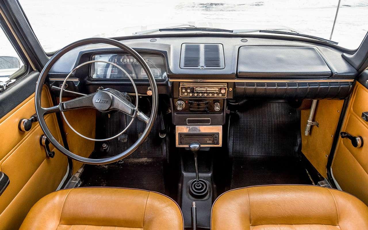 Советские автомобили против иномарок— супертест кюбилею— фото 858354