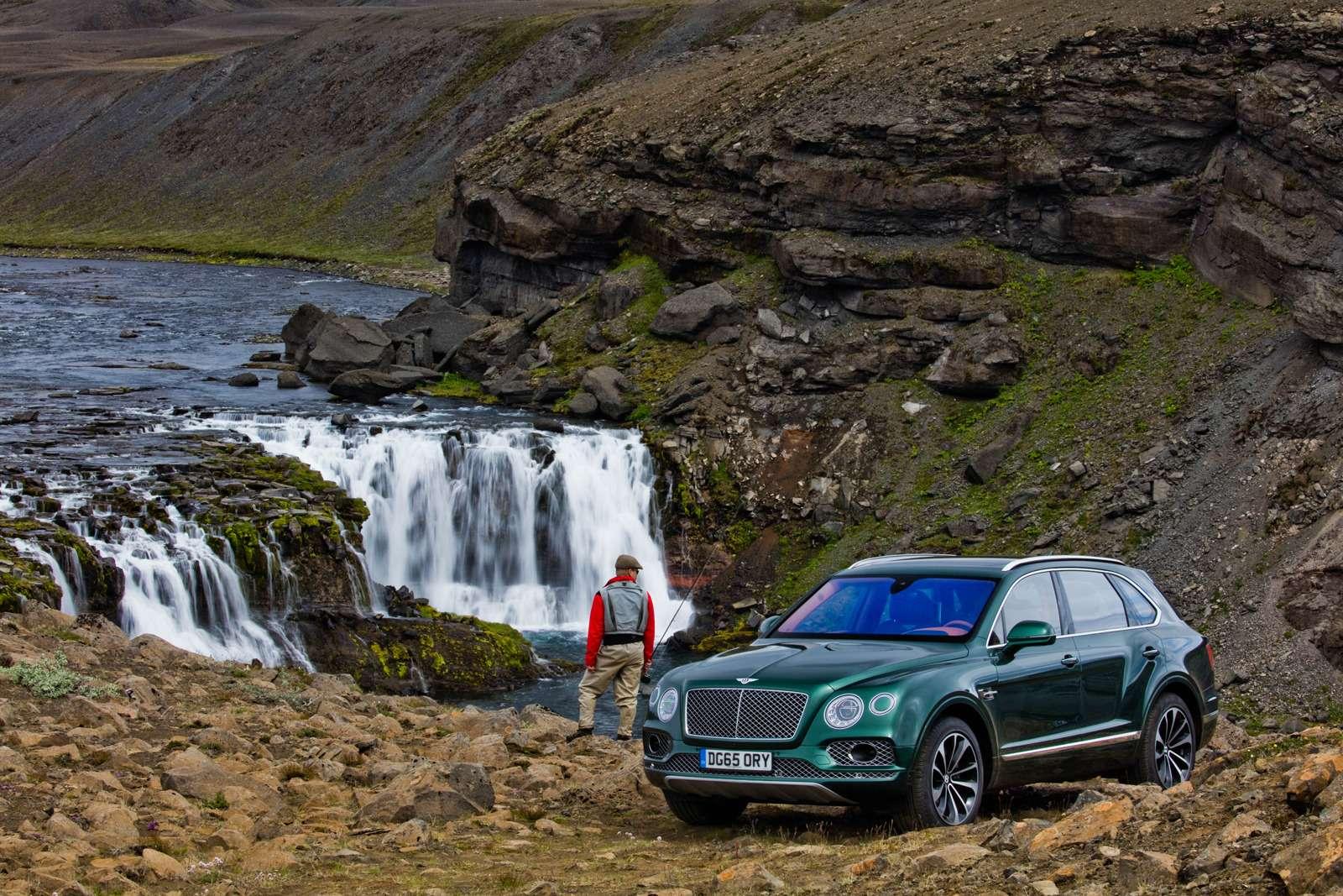 Bentley Bentayga поедет нарыбалку— фото 611156